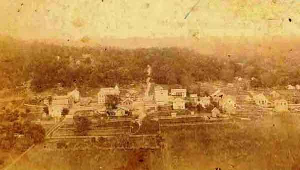 Old Forsyth - now Shadow Rock Park - Siby Parrish Collection - WRVHS